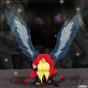 Аниме-арт / Аниме-парни с крыльями