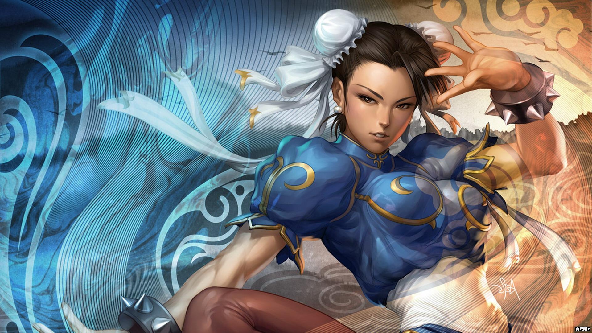 Секс-символ игровой индустрии Чунь Ли
