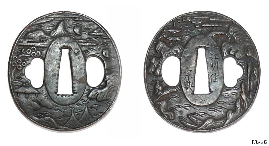 Цуба — гарда самурайского меча