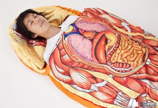 Анатомический спальный мешок из Японии