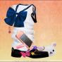 Yoriko Yoshida. workbook/Asialphabet - L [loose socks]