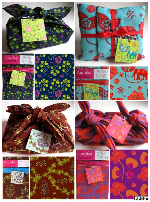 Furoshiki / Фурошики - японская техника упаковки
