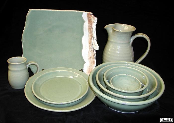 Основные цвета и формы японской посуды