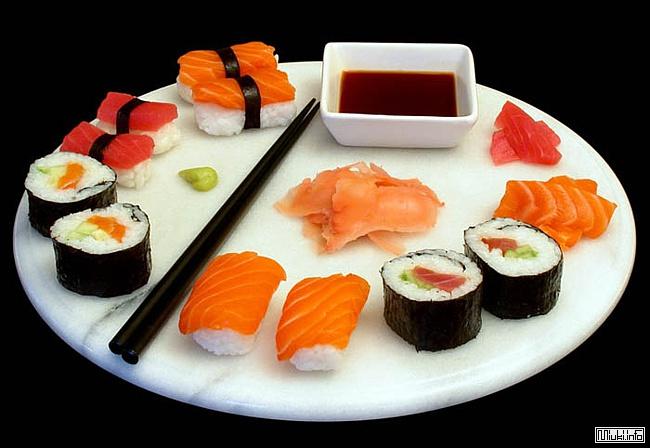 Рецепт Домашних суши