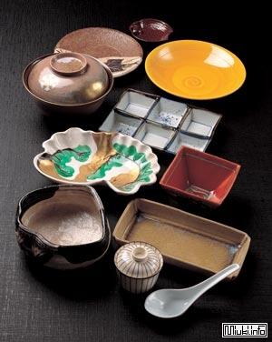 Столовая посуда на японской кухне