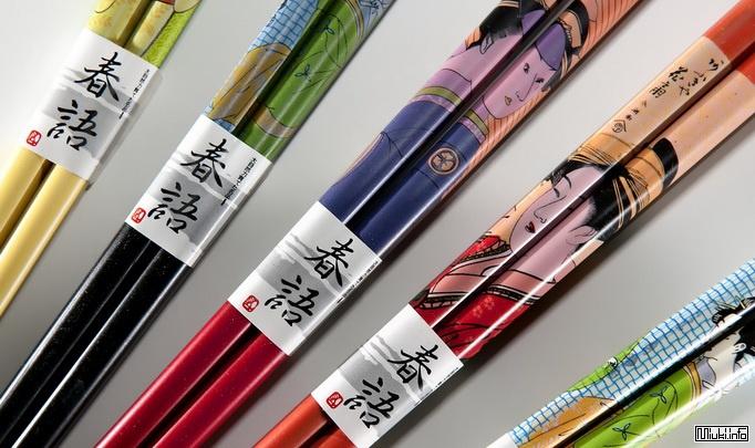 Отношение японцев к палочкам для еды