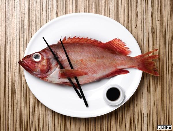 Рыба в японской кухне