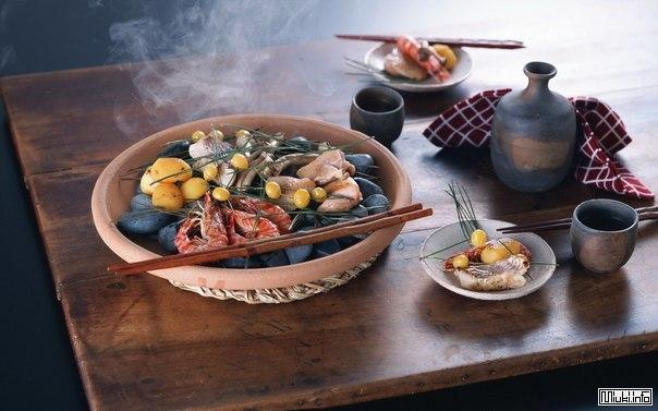 Корни японской кухни