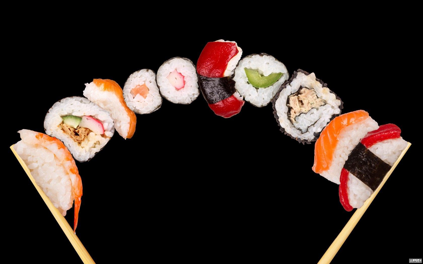 Какие бывают суши и роллы