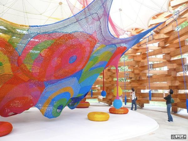 Лесные сети от Tezuka Architects