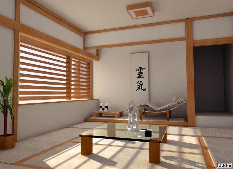 Особенности обстановки японского дома