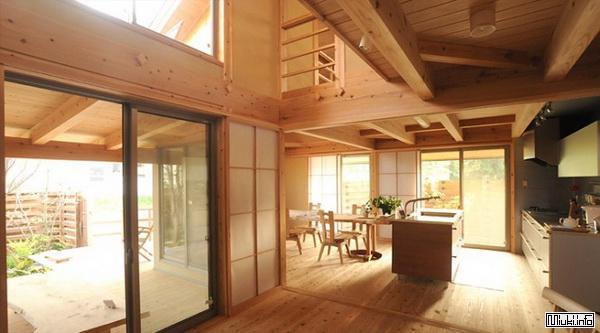 Японский интерьер кухни