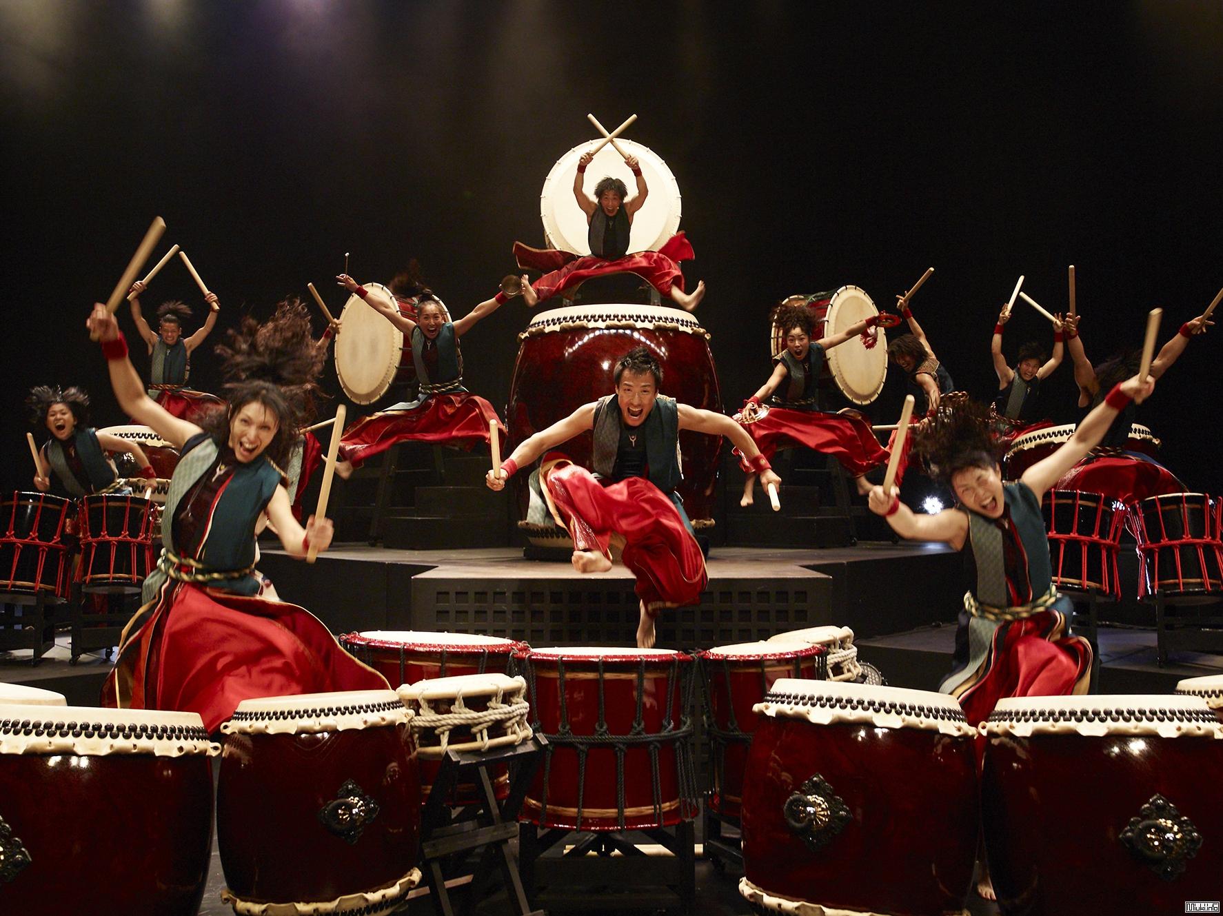 Самый популярный в мире коллектив японских барабанщиков YAMATO
