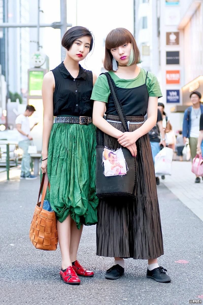 И странные, и модные люди на улицах Токио