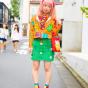 Люди на улицах Токио