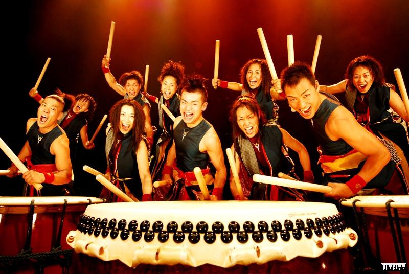 Некоторые японские народные музыкальные инструменты - Тайко
