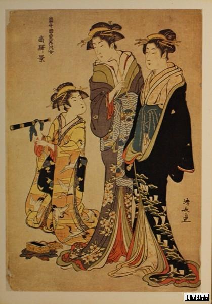 Любовь гейши Усуюки (японская притча)