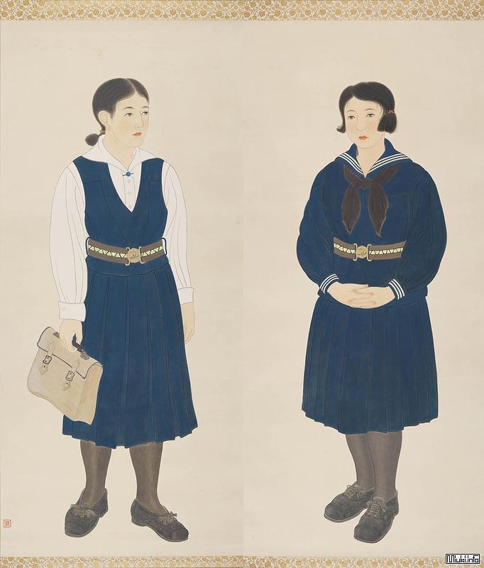 История японской школьной формы девочек Сейлор-фуку