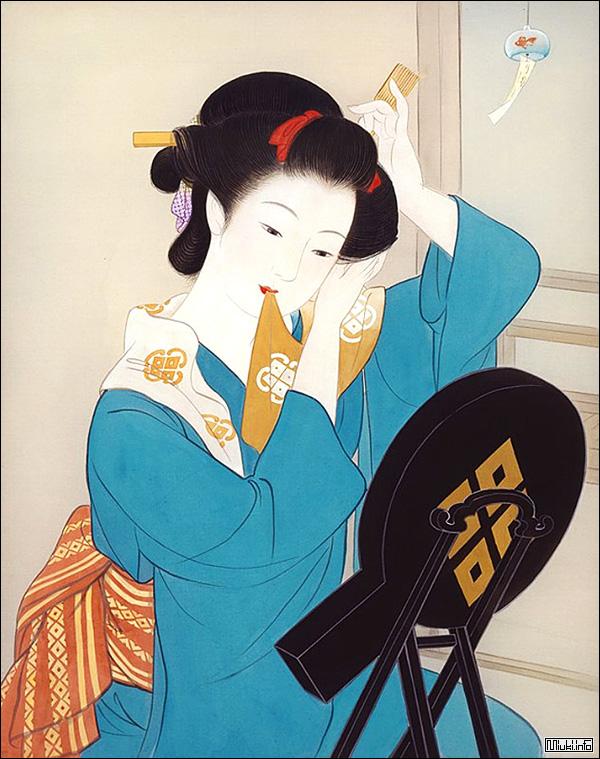 Японские бронзовые зеркала