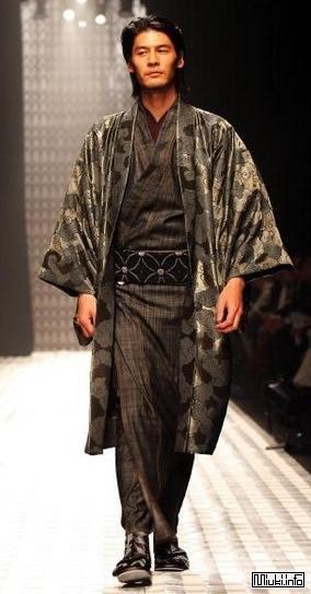 Мужское Кимоно. Описание