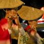 Люди в кимоно
