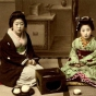 Женщины в кимоно