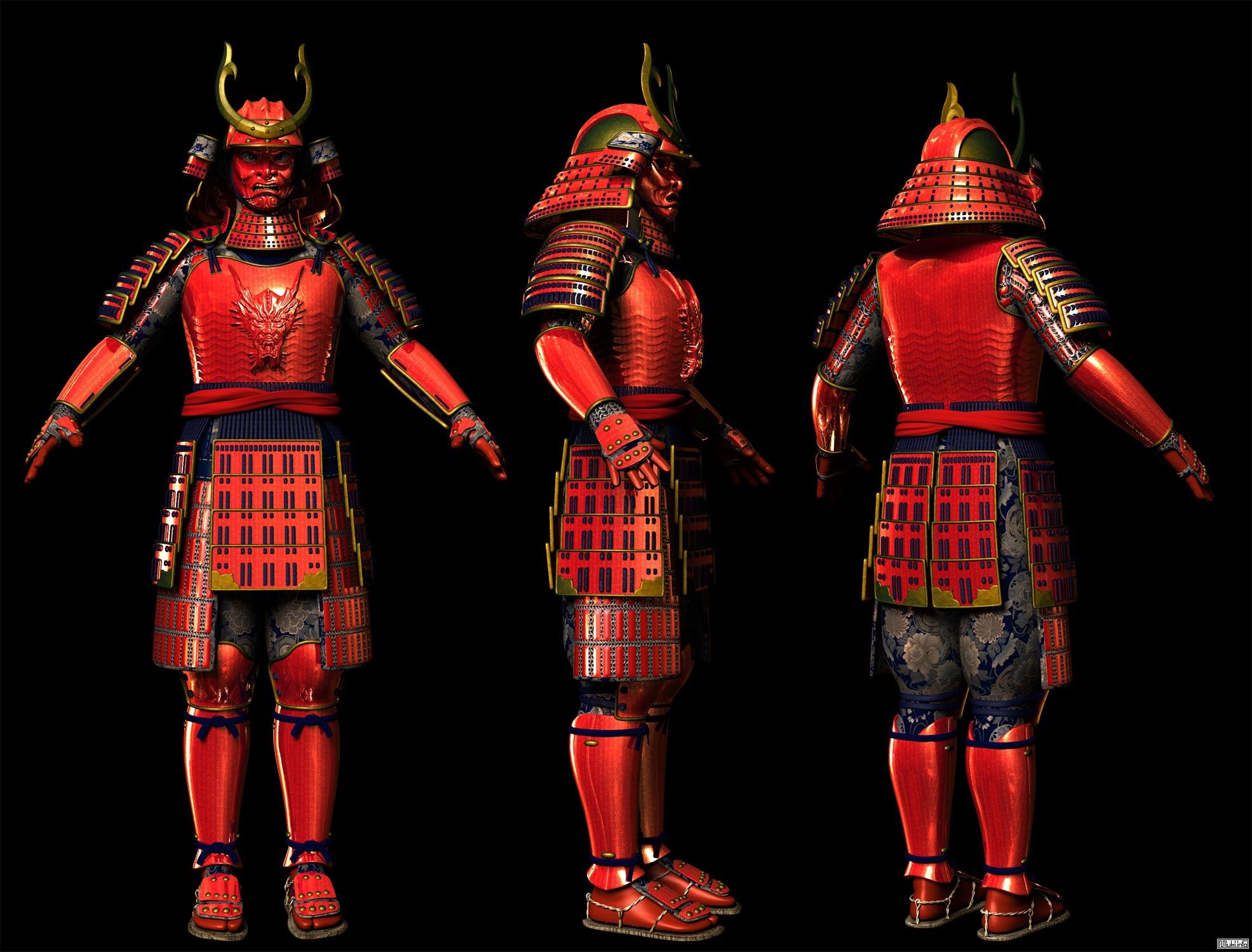 Военное снаряжение самураев