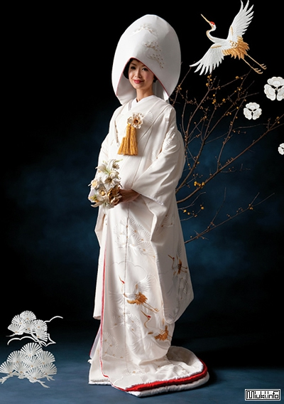 Учикаке - свадебная накидка