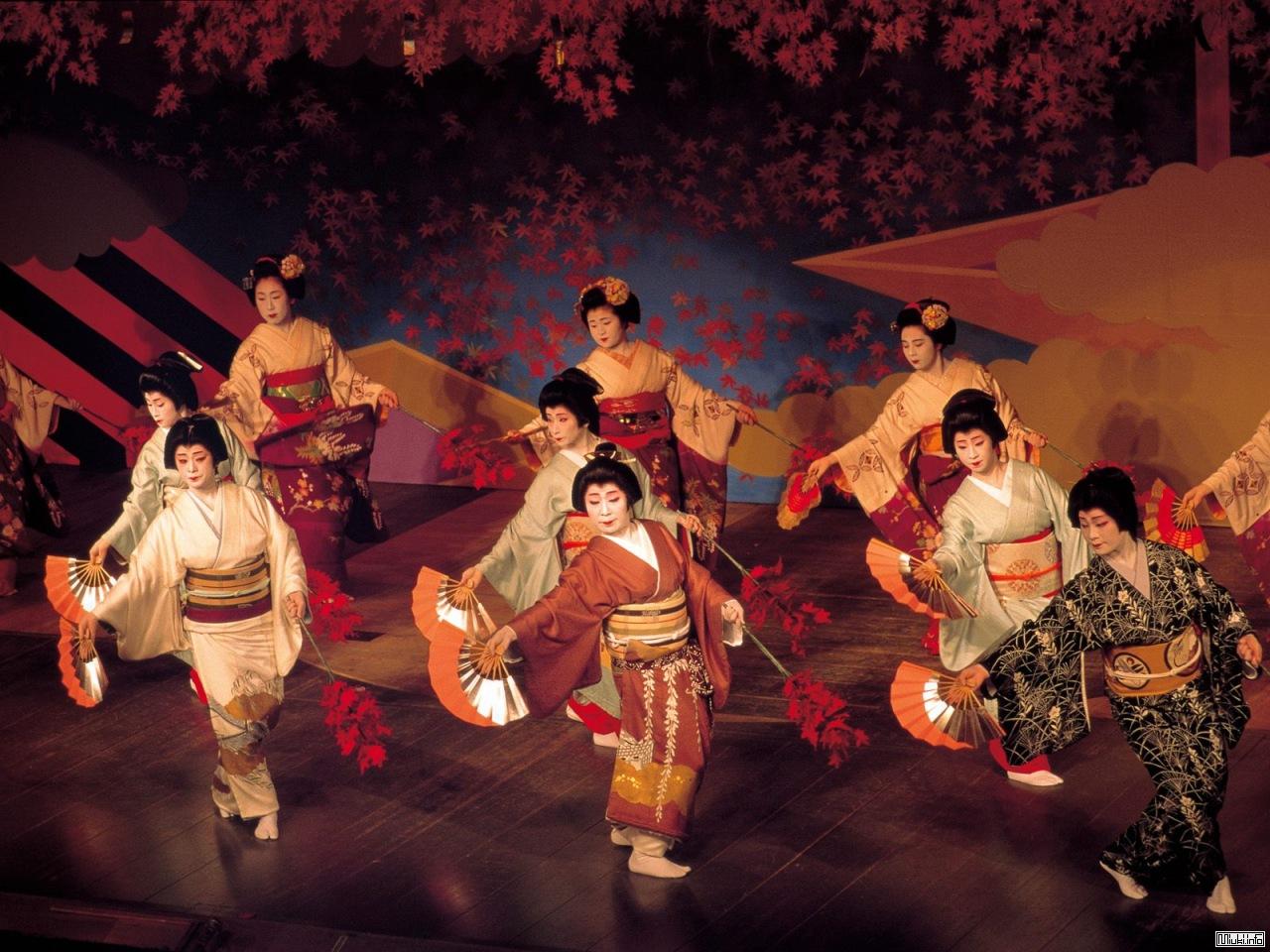 Японские народные танцы