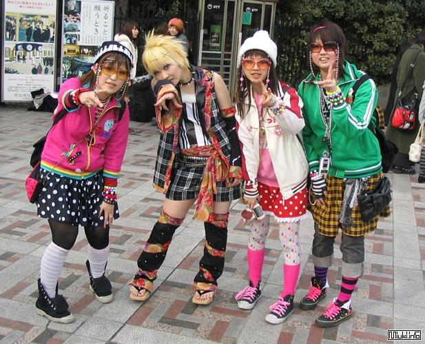 Одежда в Японии (краткая история японской одежды)