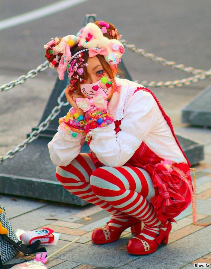 Японская уличная мода. Яркие субкультуры Токио