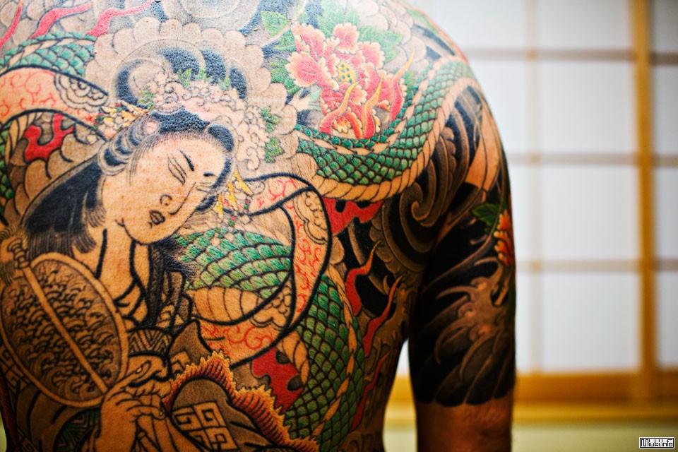 поскольку фото татуировок якудза вьетнаме