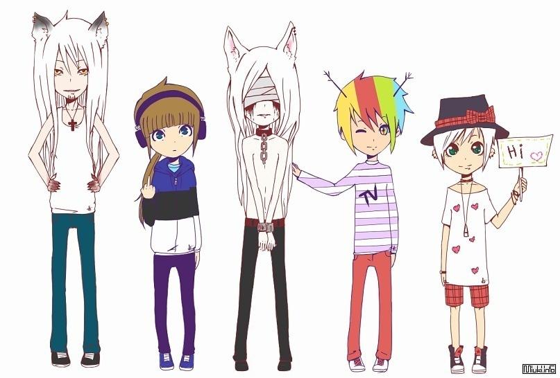 Немного о стандартных типах персонажей в аниме