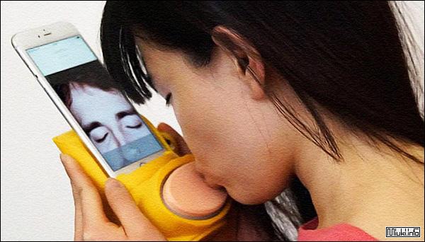 Интернет-чудеса. Передатчик поцелуев от японских учёных