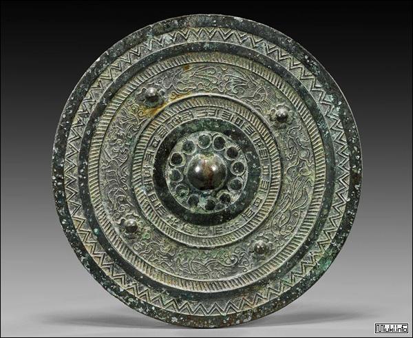 Докё - бронзовое зеркало периодов Яёй и Кофун