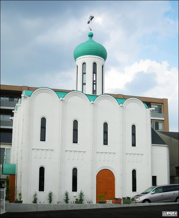 Церковь Богоявления Господня, Нагоя, 2010