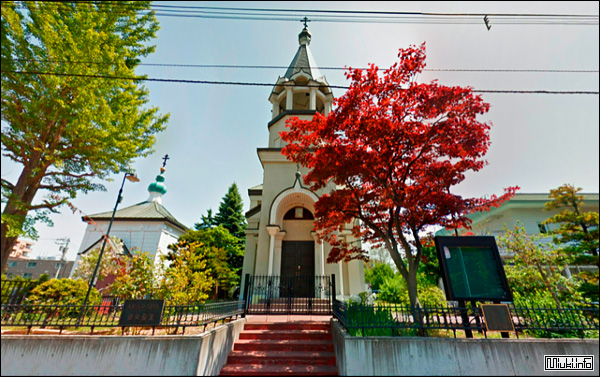 Храм преображения Господня, Саппоро, 1971