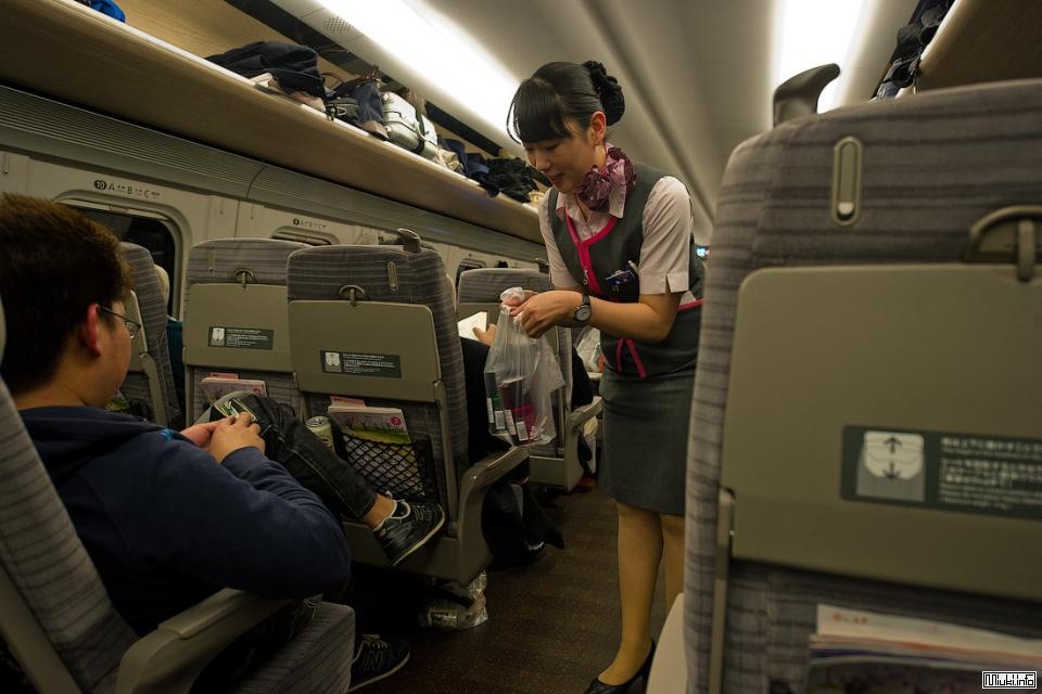 Железные дороги в Японии. Электропоезда сети Синкансэн