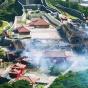В Японии сгорел замок Сюри