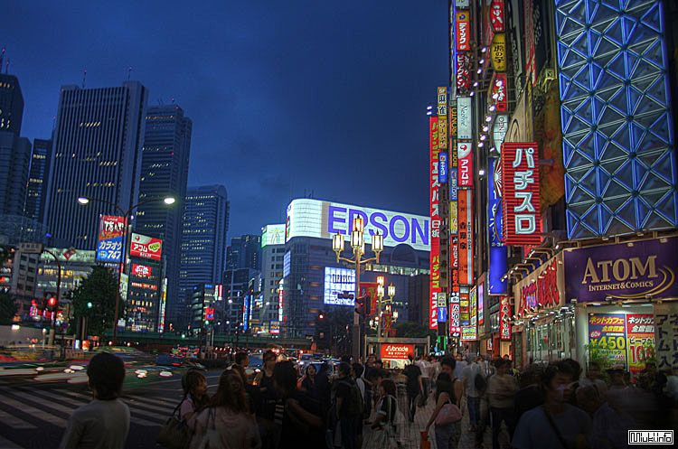Небольшое фото-путешествие по Японии