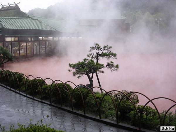 Горячие источники в Японии - онсэн