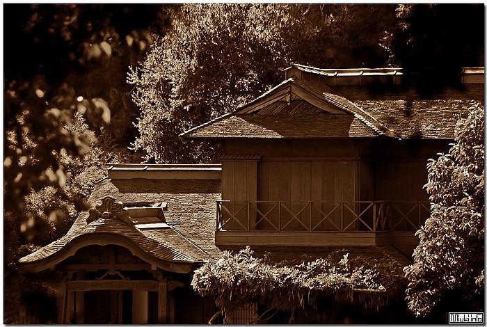Деревянные дома в Японии