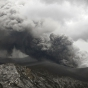 Извержение вулкана Синмоэ в Японии