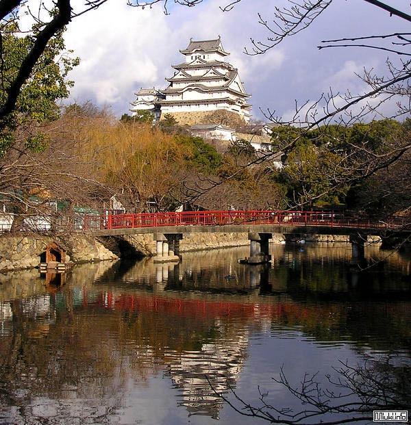 Замок Himeji получил статус Национального достояния Японии / Фото из Японии