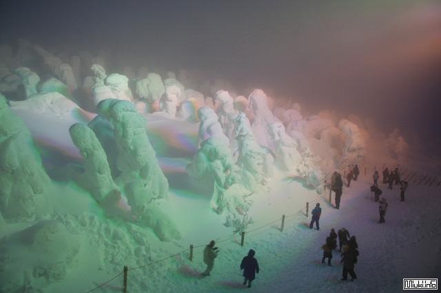 Снежное чудо в Японии