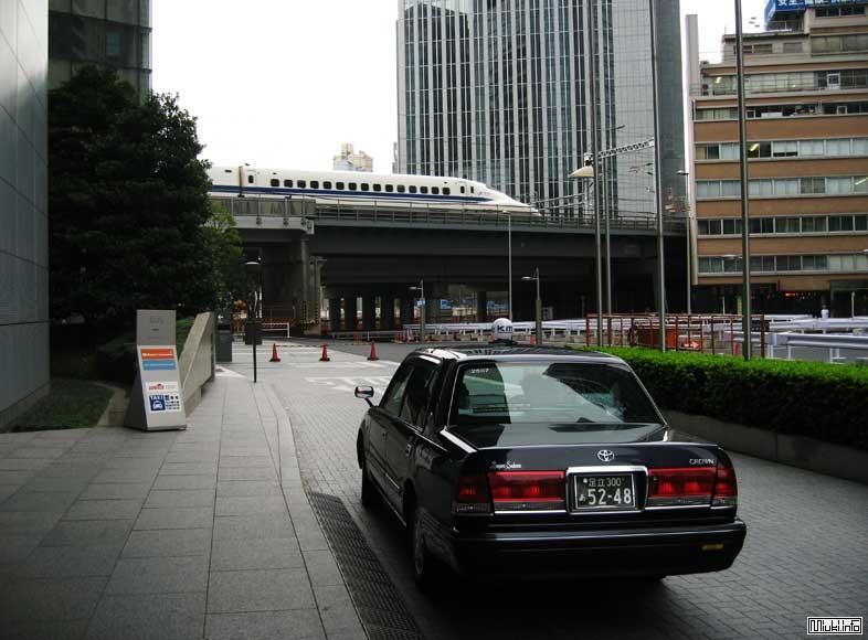 Японские такси (впечатления гайдзина)